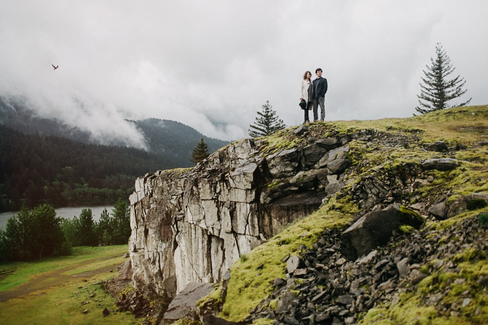 columbia gorge engagement location