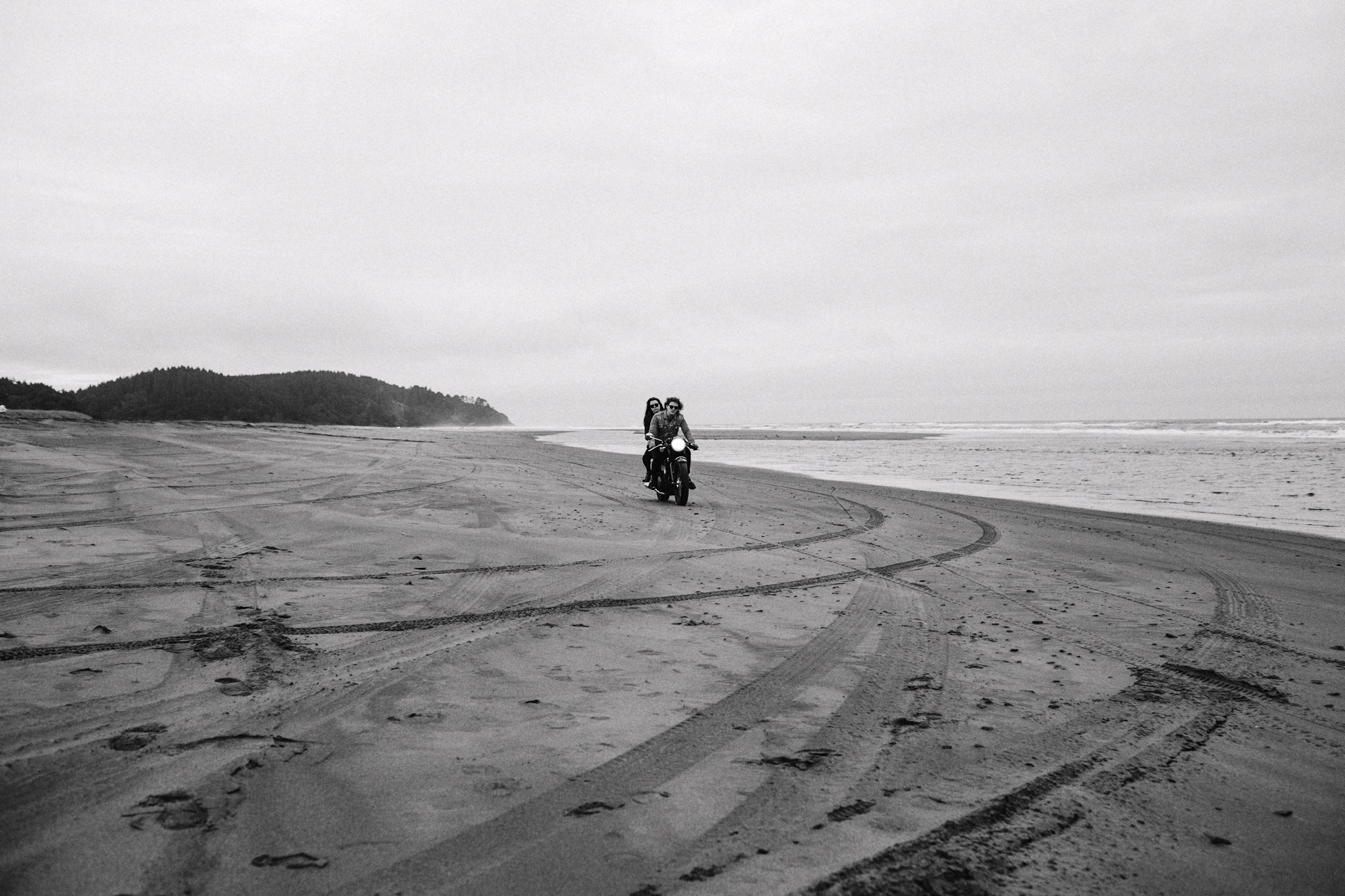 beach motorcycle ride