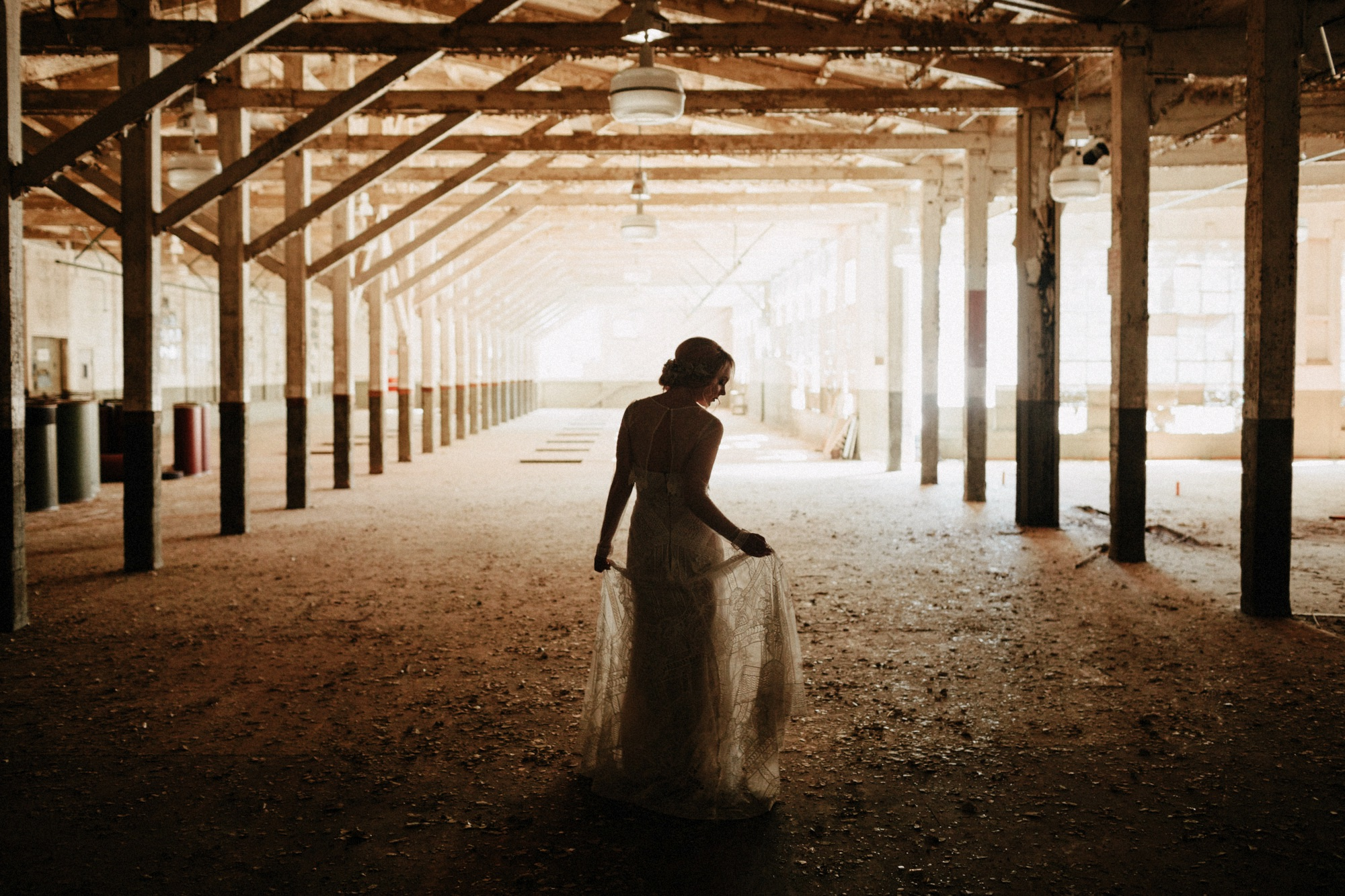 warehouse wedding venue